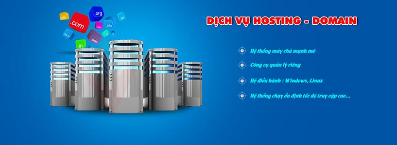 Cung cấp hosting chất lượng cao, đăng ký doamin, email theo tên miền