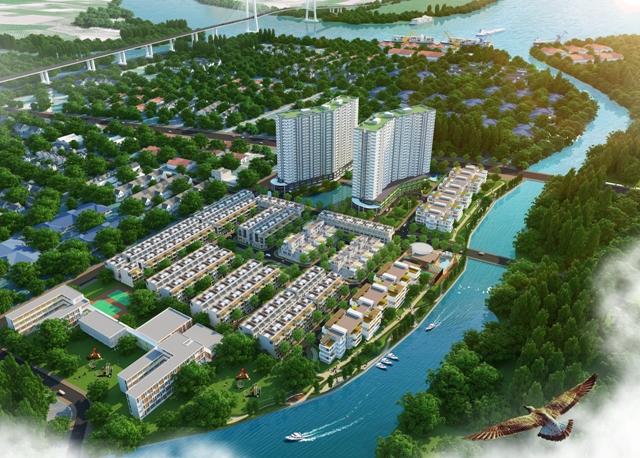Sở hữu đất vàng Jamona City trung tâm quận 7 với 380 triệu